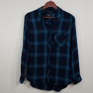 Rails Plaid Shirt Button down small